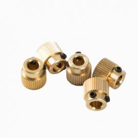 5pcs Brass Extruder Gear for Creality3D Ender3 CR10 3D Printer