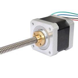 Nema17 stepper motor with 300mm lead screw 42HS40-1704AL 2mm pitch 1 start 2mm lead